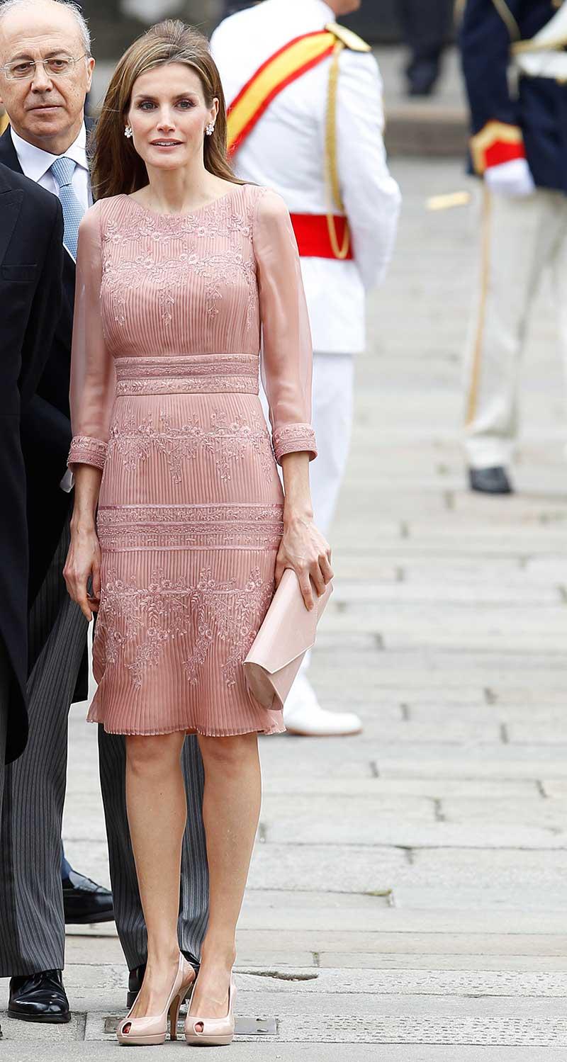 Cómo vestirá Letizia en Londres? Así lo hizo en su última visita