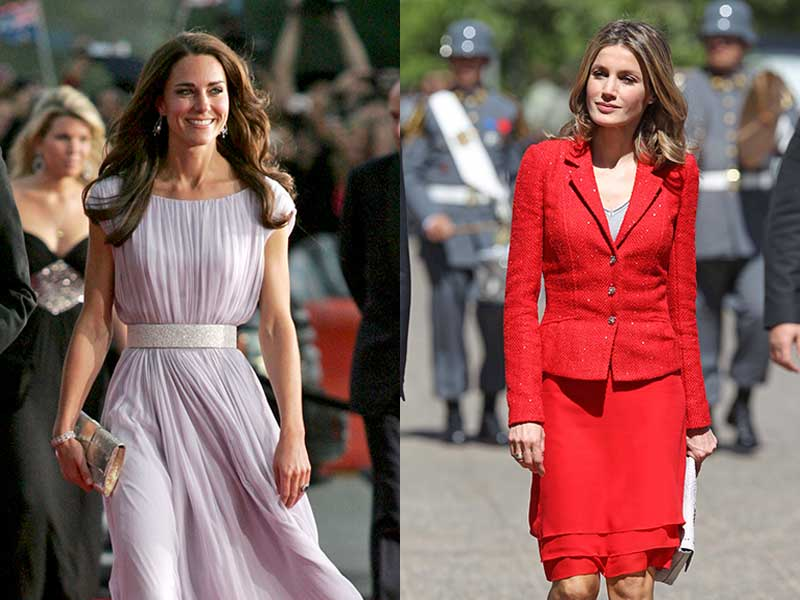 Kate Middleton Doña Letizia