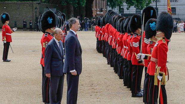 Don Felipe y el Duque de Edimburgo