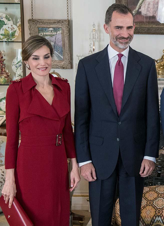 Reina Letizia Looks Viaje Reino Unido