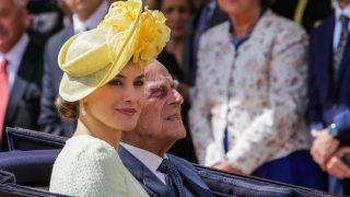 Doña Letizia y el Duque de Edimburgo / Gtres