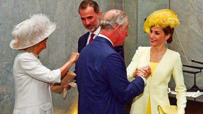Los Reyes con Carlos y Camilla