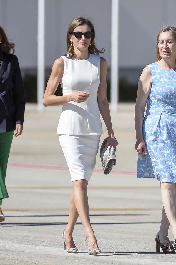 Reina Letizia Look Viaje Londres