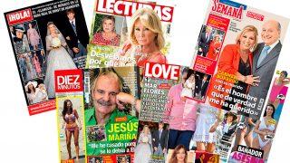 Las revistas del miércoles /Fotomontaje LOOK