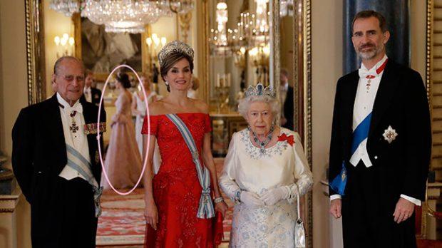 Doña Letizia y la reina Isabel