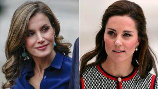 Montaje de la reina Letizia y Kate Middleton / Gtres
