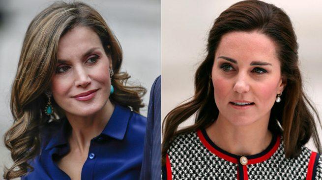 La reina Letizia y Kate Middleton