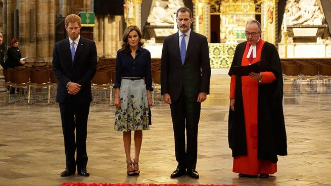 letizia Visita a la Abadía de Westminster / Gtres
