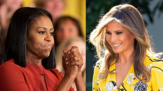 Michelle VS. Melania / Gtres