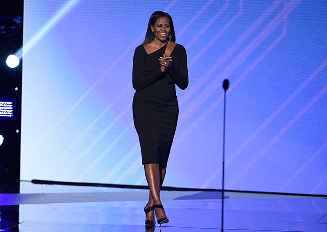 Michelle Obama en los ESPY Awards / Gtres