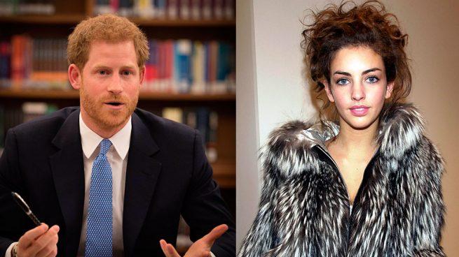 ¿Quién es la nueva acompañante del príncipe Harry?