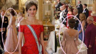 Montaje de la posición de Kate Middleton respecto a la reina Letizia / Gtres