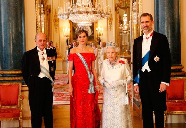 Cena de gala en Buckingham