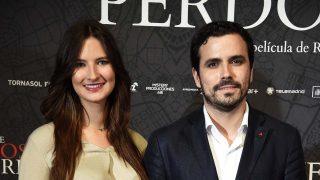 Alberto Garzón y Anna Ruiz en una imagen de archivo /Gtres