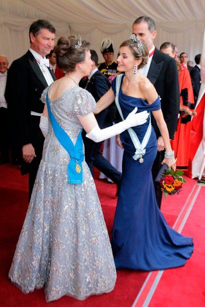 La reina Letizia y la princesa Anna
