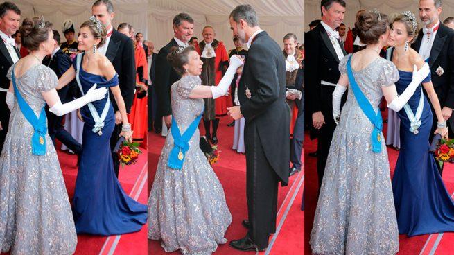 Letizia y Anna, cuando el protocolo manda
