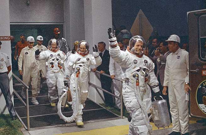 Los miembros del Apollo 11 / Gtres