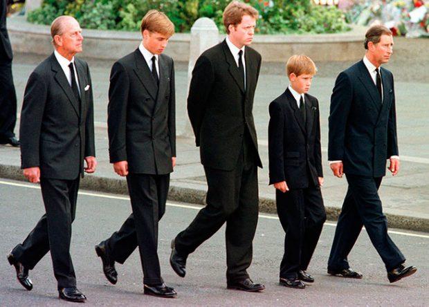Cortejo fúnebre de Diana de Gales