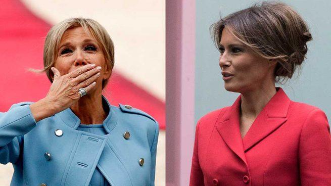 Brigitte Macron vs. Melania Trump / Gtres