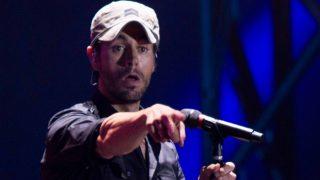 Enrique Iglesias durante el concierto de Santander /Gtres