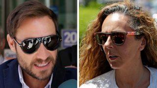 Antonio David Flores y Rocío Carrasco en su último encuentro ante el juez / Gtres