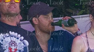 El príncipe Harry se lo pasó en grande en el festival Summertime / Look