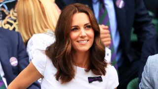 Kate Middleton en la final de Wimbledon / Gtres