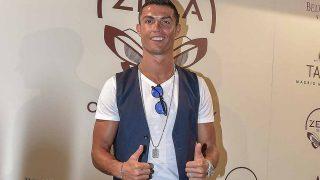 Cristiano Ronaldo en la presentación de Zela Ibiza / Gtres