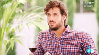Feliciano López durante su entrevista en 'Mi casa es la tuya' /Mediaset