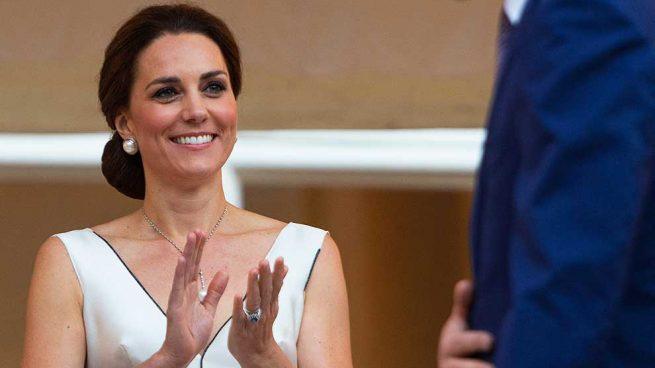 Kate Middleton en su viaje oficial a Polonia / Gtres