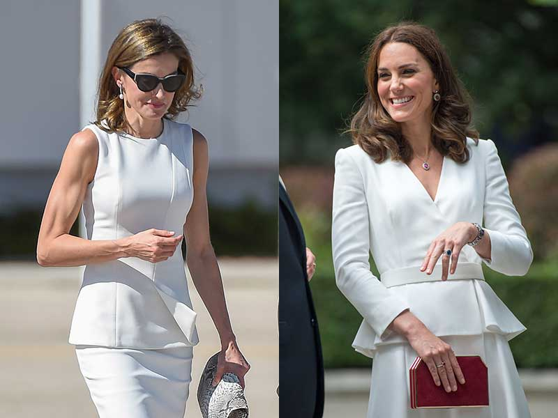 Letizia Kate Middleton