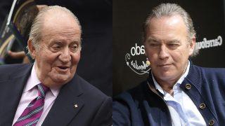 Bertín Osborne y el rey emérito Juan Carlos I /Fotomontaje LOOK