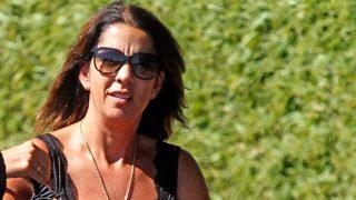GALERÍA: Gema Gámez acude al tanatorio para recoger la cenizas de su marido, Miguel Blesa / Gtres