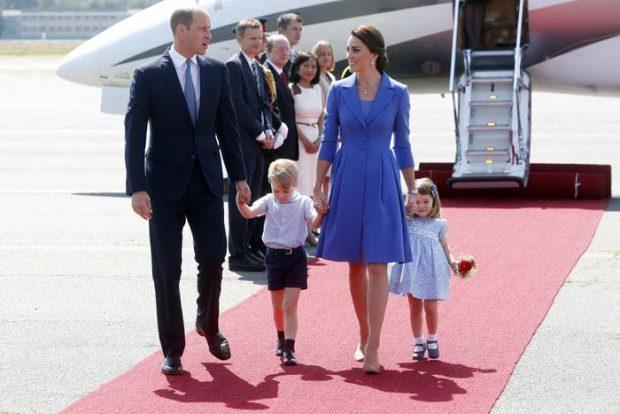 Kate Middleton Vestido Rojo Alexander McQueen