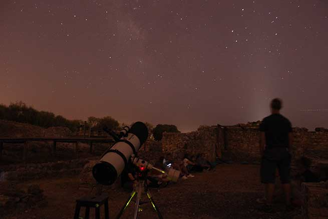 Noche de estrellas Troia