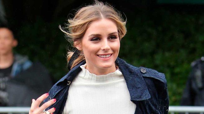 Olivia Palermo Trench Encaje Capazo Look Wimbledon