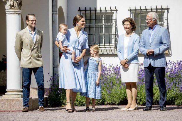 Posado familiar de la Familia Real Sueca
