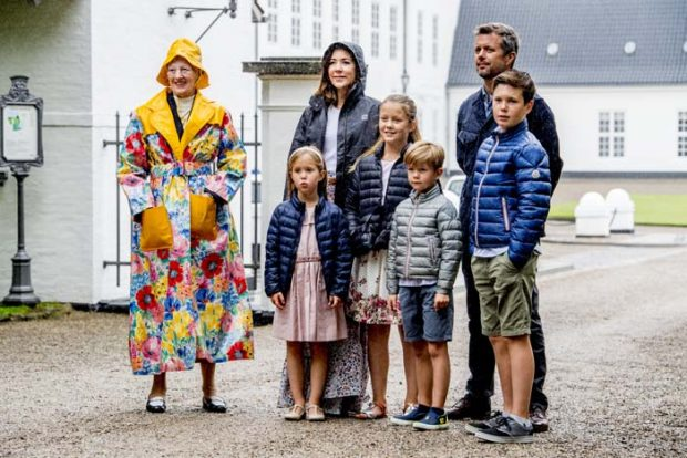Posado familiar de la Familia Real Danesa