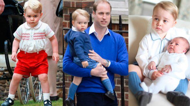 Jorge de Cambridge, 4 años repartiendo sonrisas