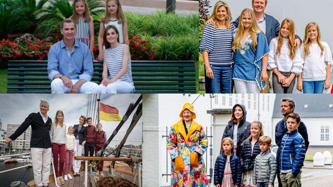 Las vacaciones de los royals europeos