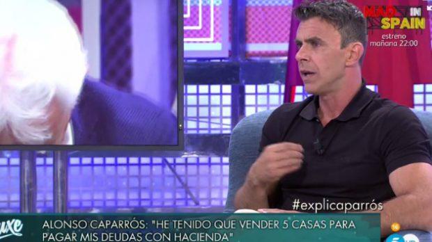 Alonso Caparrós reaparece tras el escándalo y revela la ruina económica de su familia
