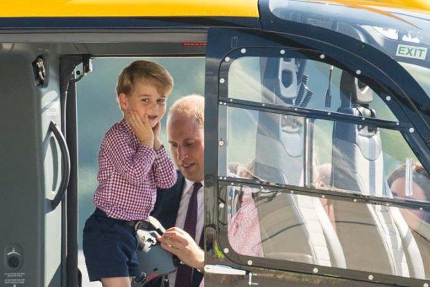 Kate Middleton y su familia durante su viaje oficial a Alemania / Gtres