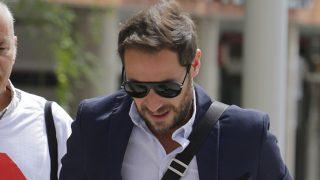 Antonio David Flores a su llegada a un juicio por la custodia de su hijo / Gtres