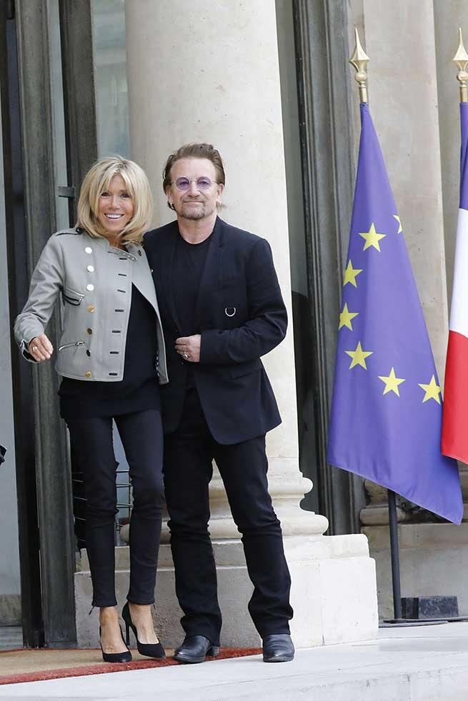 Brigitte y Bono / Gtres