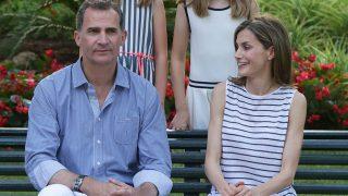 Los reyes durante su tradicional posado veraniego en Mallorca en 2016 / Gtres