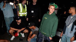PINCHA EN LA IMAGEN PARA ACCEDER A LA GALERÍA / Justin Bieber en el lugar del accidente / Gtres