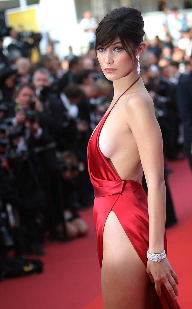 Bella Hadid en el Festival de Cannes 2016 / Gtres