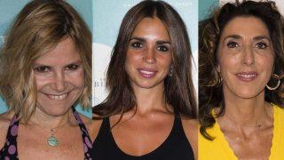 Eugenia Martínez de Irujo, Elena Furiase y Paz Padilla en un fotomontaje /LOOK
