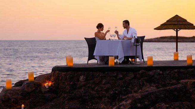 Cena romántica barceló