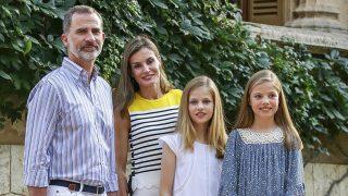 La Familia Real durante el posado veraniego en Palma de Mallorca / Gtres